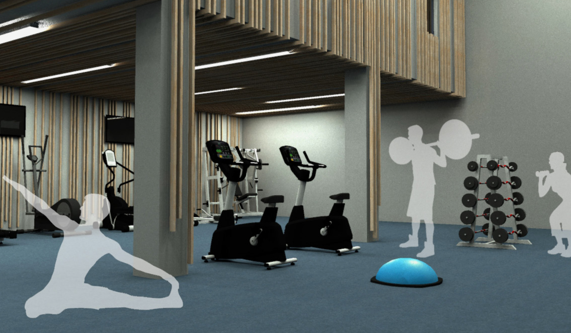 Bent Tree - Centreville - Fitness Render