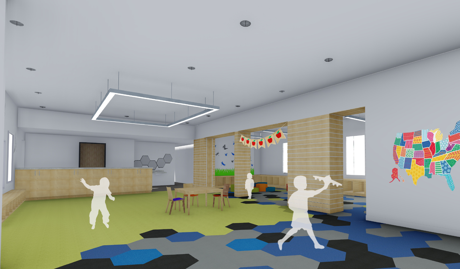 Bent Tree - Centreville - Play Area Render