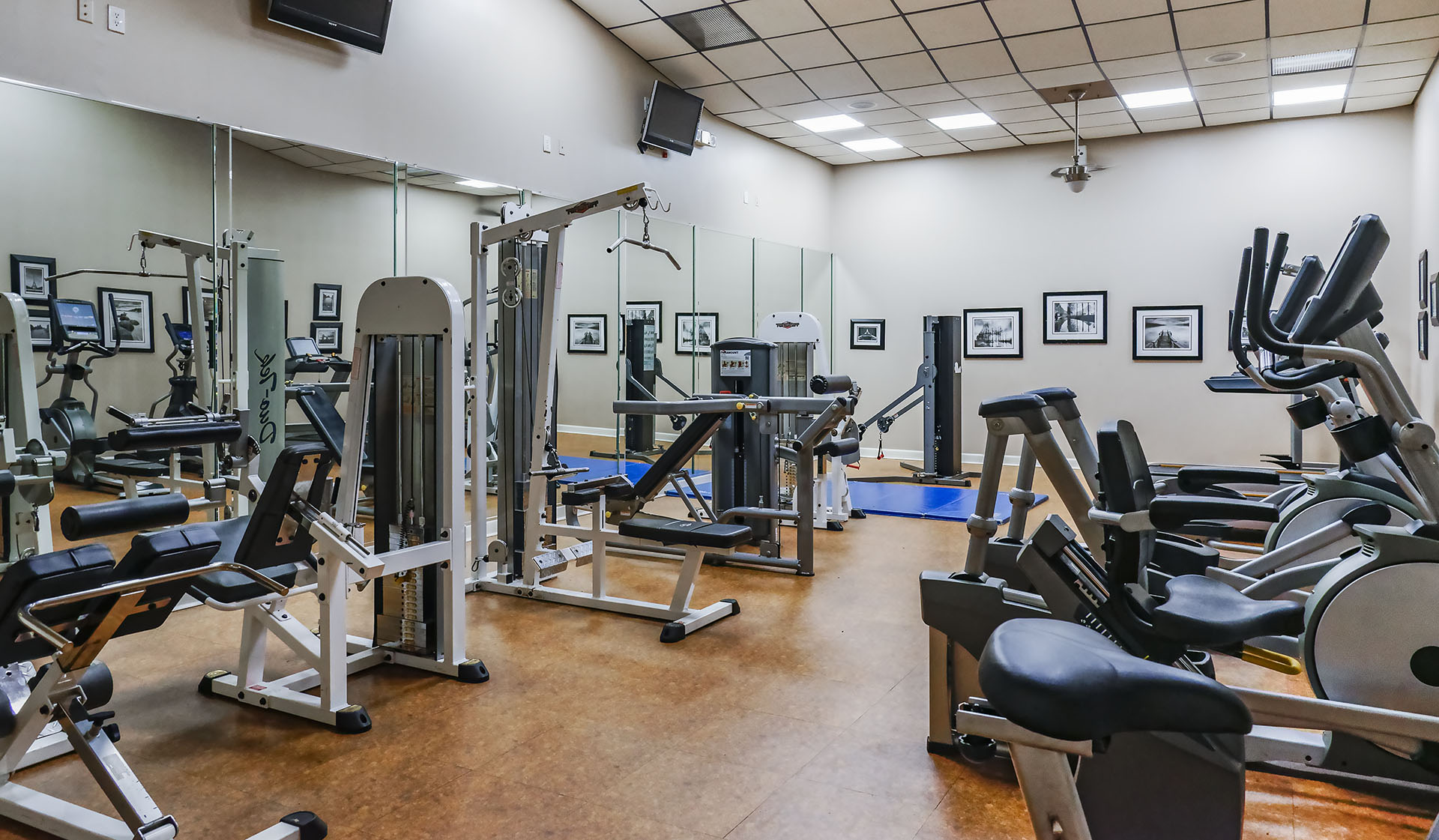 Bent Tree Apts - Centreville - gym