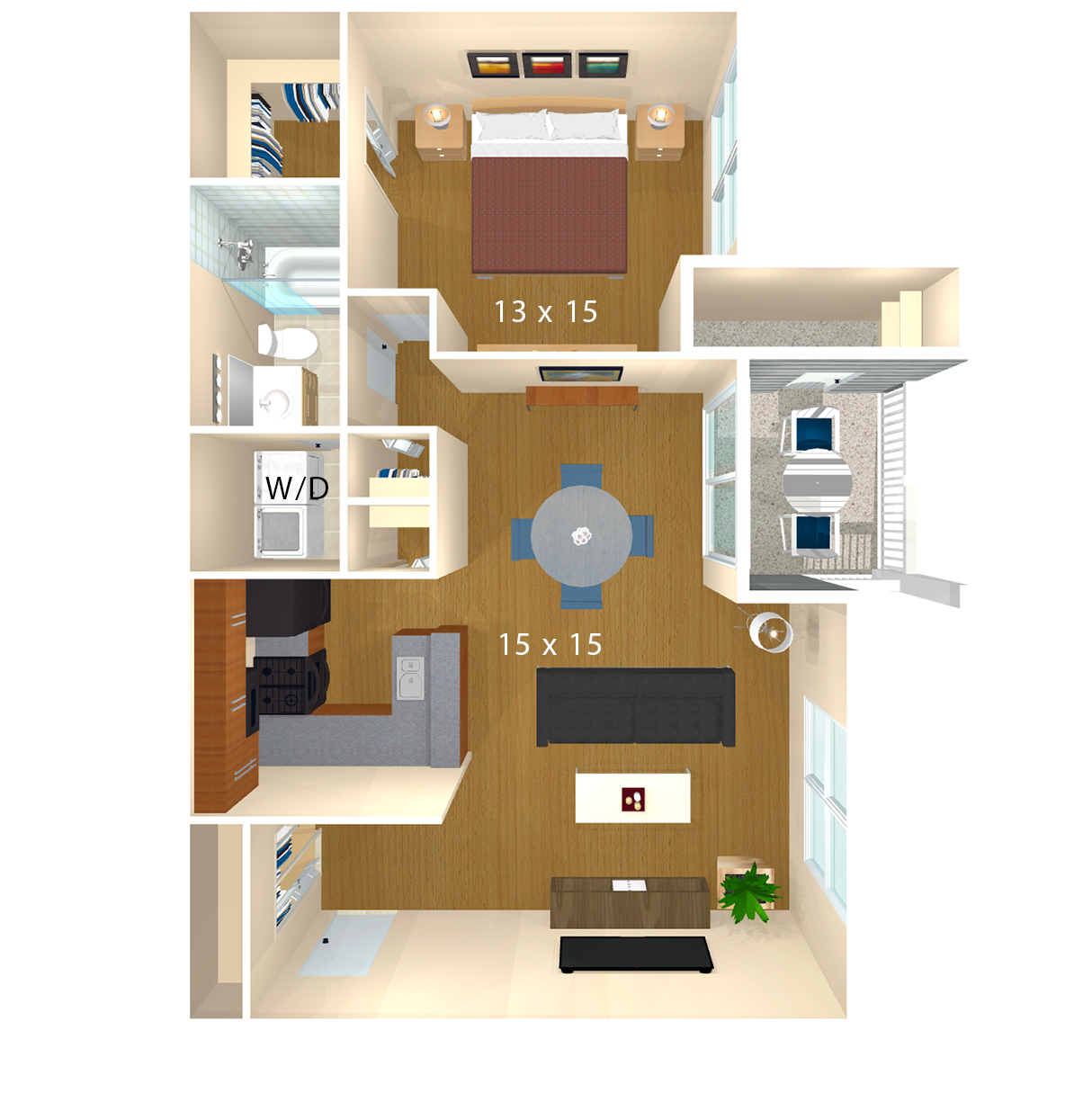 Bent Tree Apartments | Centreville, VA | Floor Plans One Bedroom Sq Ft House Plan Html on