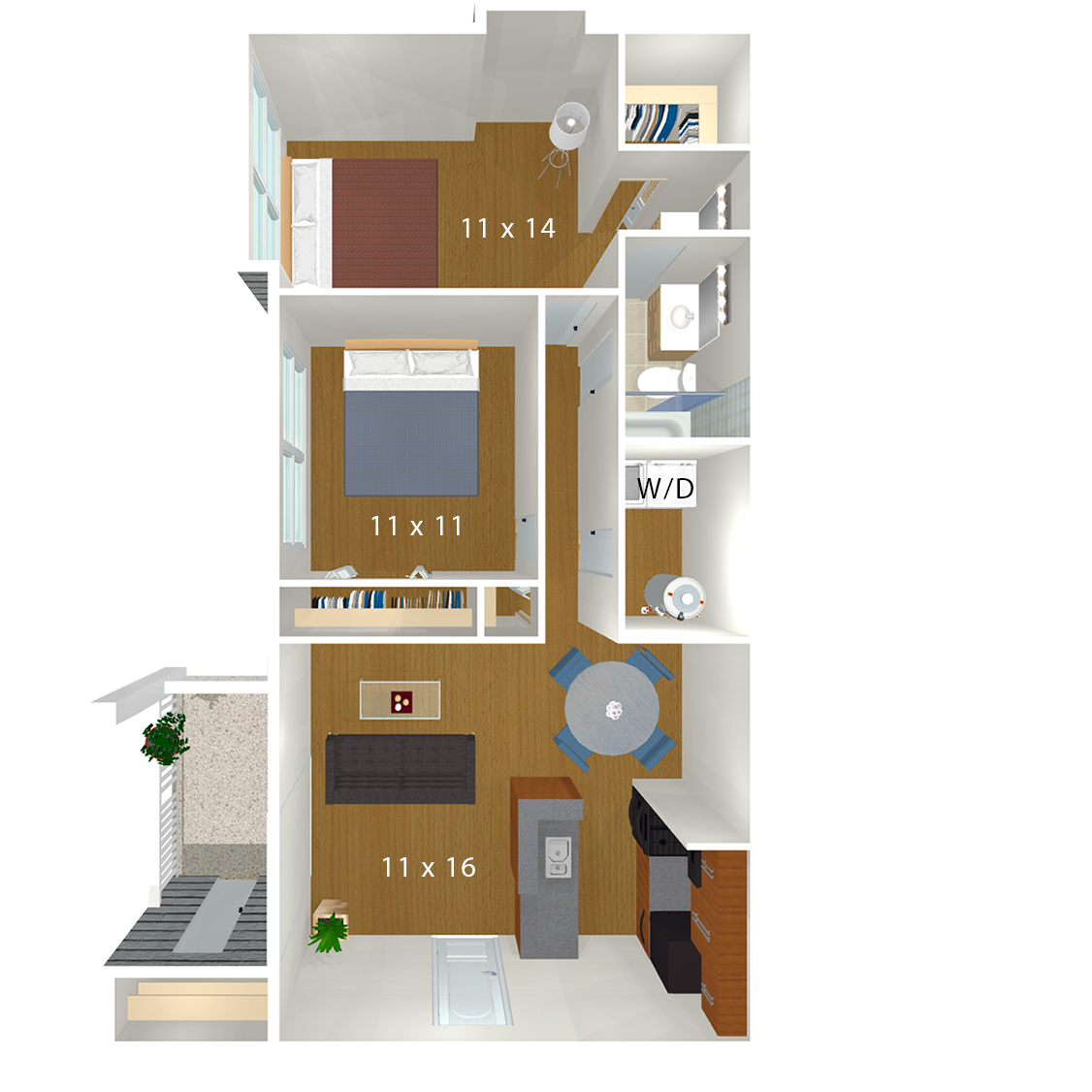 Bent Tree Apartments | Centreville, VA | Floor Plans  Bedroom House Plans For Entertaining Html on